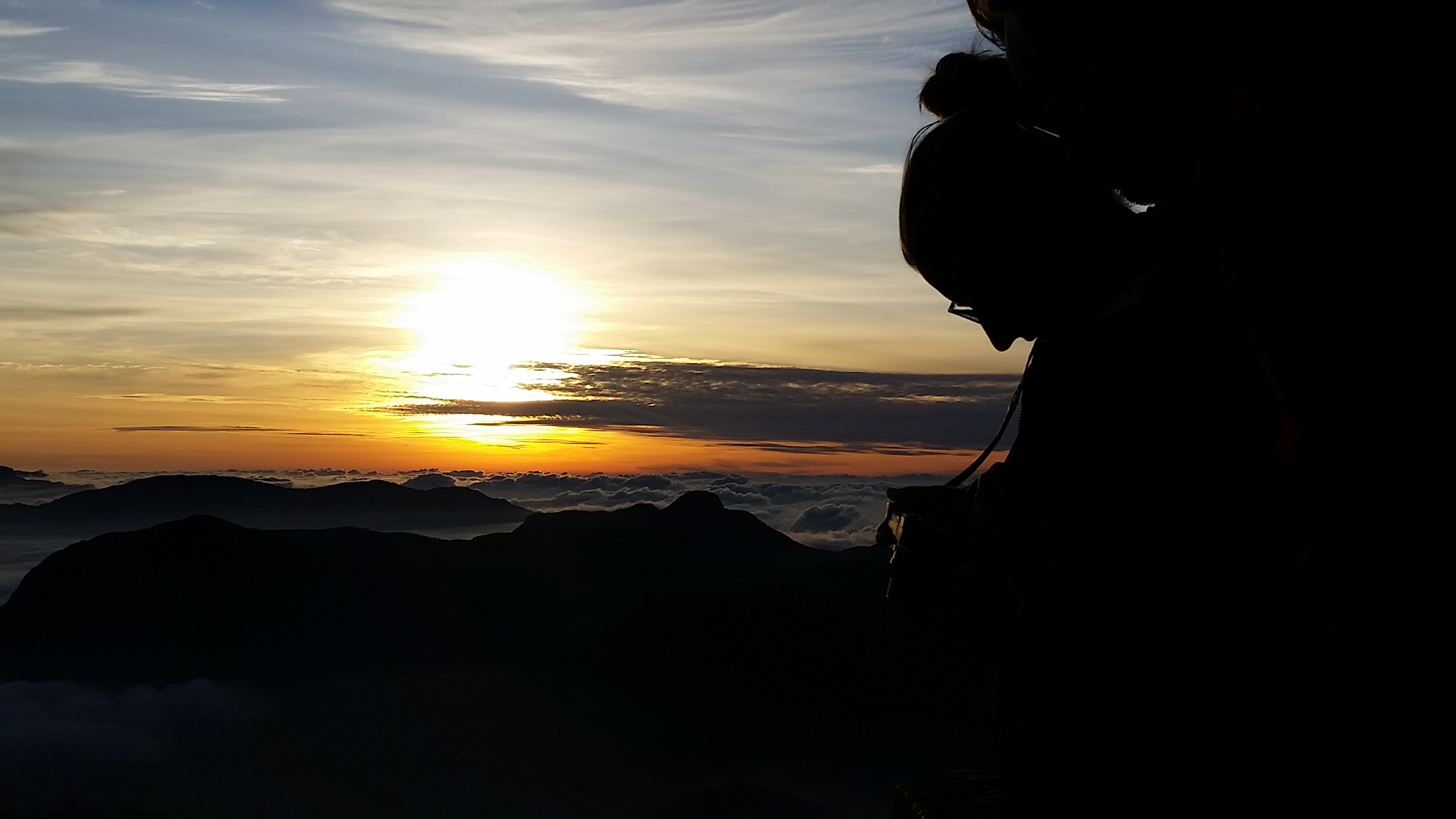 Sunrise Adams Peak