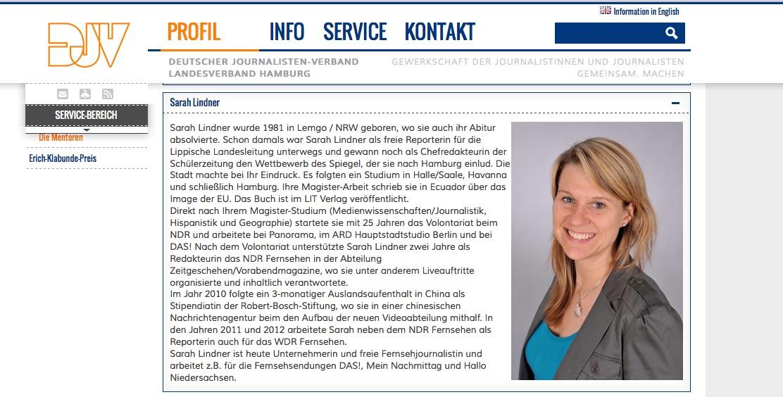 DJV Mentorin Sarah Lindner
